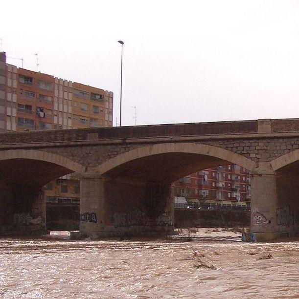 El río Palancia y acueducto