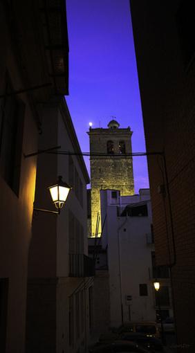 Vistas de Segorbe de noche