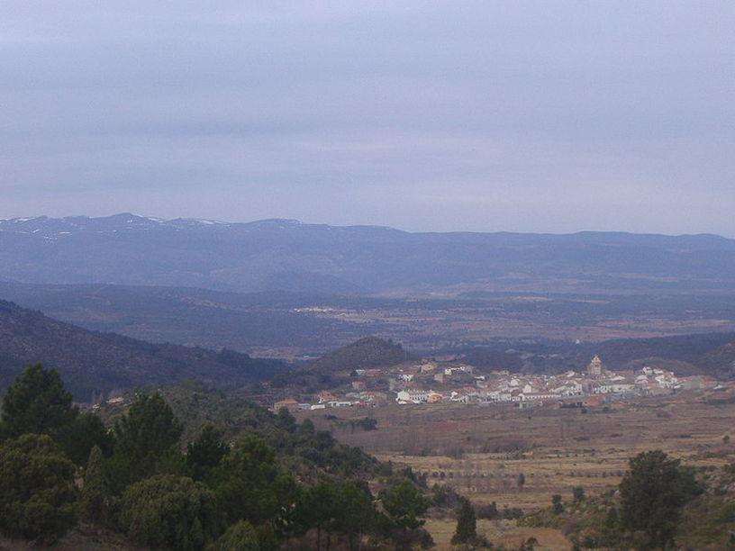 Vista general de Pina de Montalgrao