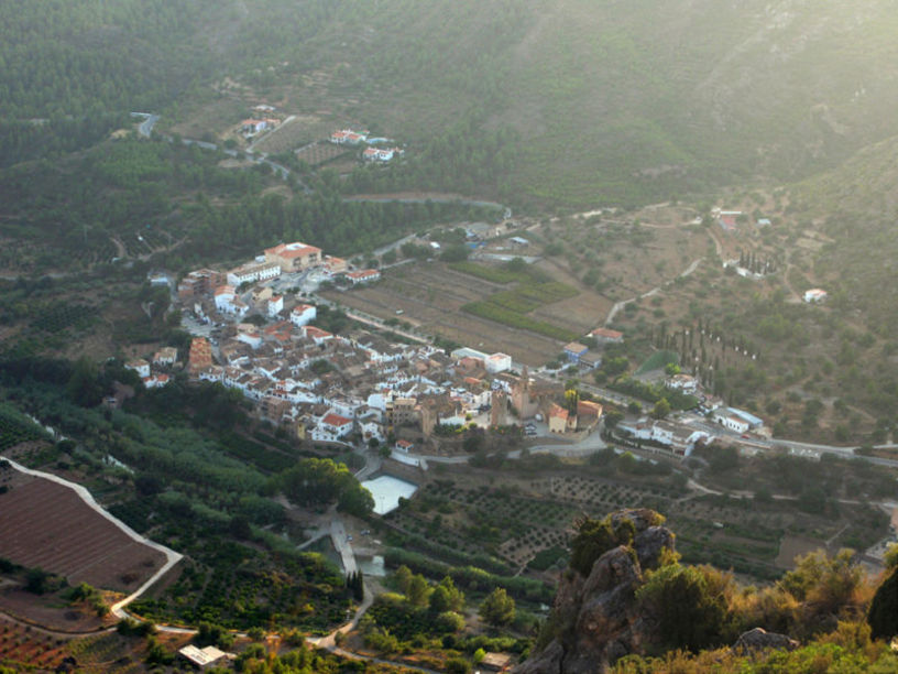 Vista panorámica de Argelita