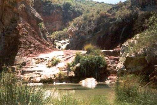 Presencia del Rio Chico en las en las Fuentesde Ayodar