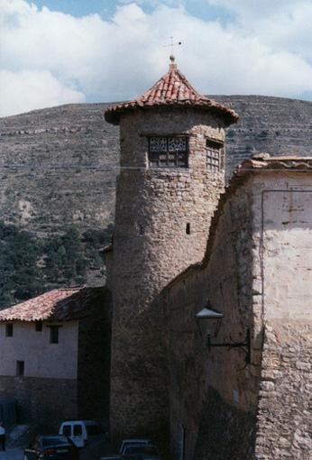 Vista de una de las Torres en la región de el Castillo de Villamufeta