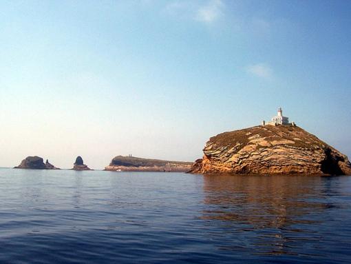 Vistas de la Isla Grossa, Islas Columbretes