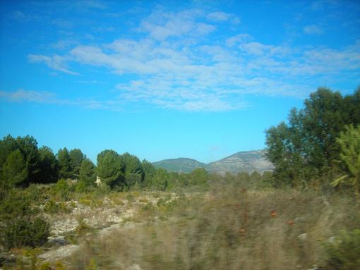 Vistas de los paisajes naturales de bENAFIGOS