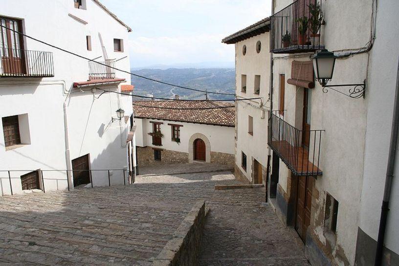 Entorno de la ciudad de Morella