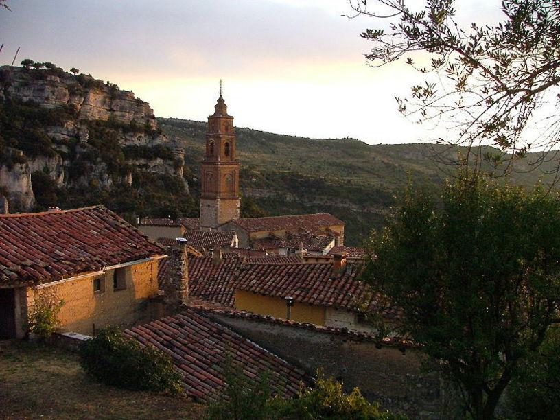Vista desde arriba de  Morella