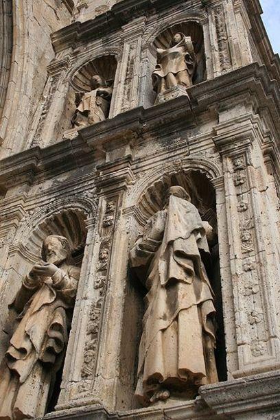 Vistas de la Iglesia arciprestal de Morella