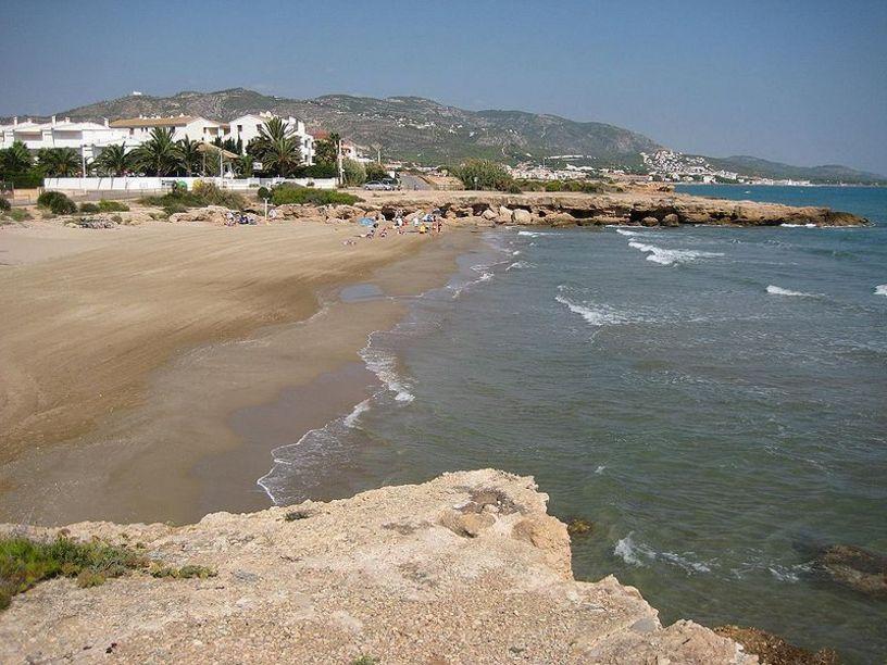 Playa del Moro en Alcocebre (Alcalá de Chivert)