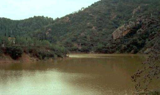 El rio Veo y su embalse en Alcudia de Veo