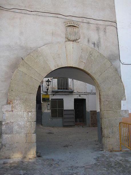 Vista de el Portal de San Pedro de Onda