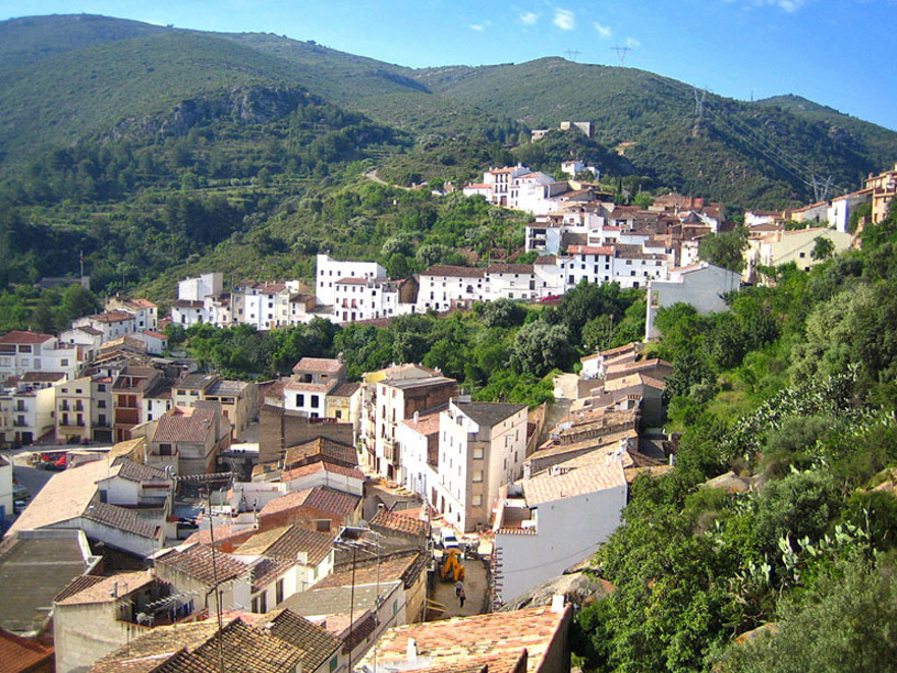 Vista general de Villafamés