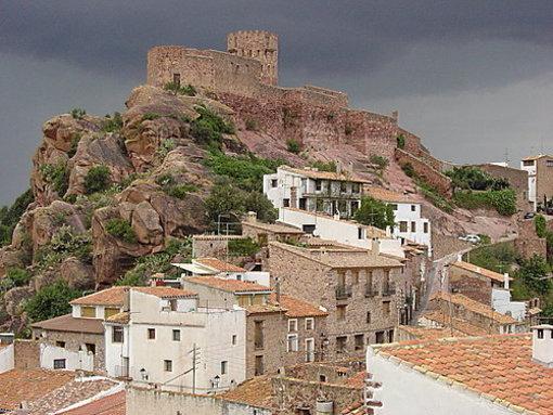 Vista de el Castillo de Villafamés
