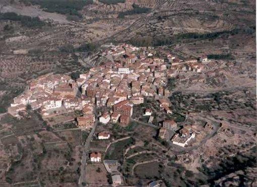 Vista general desde arriba de Torás