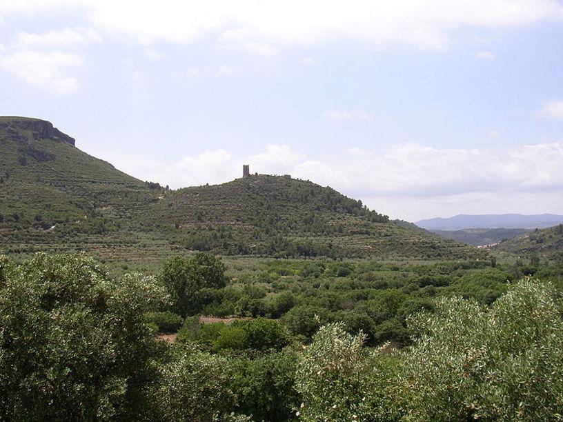 Castillo de Almonecir en el Vall de Almonecir