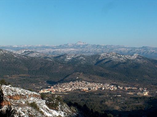 Artana y las Sierras de Castellón nevades