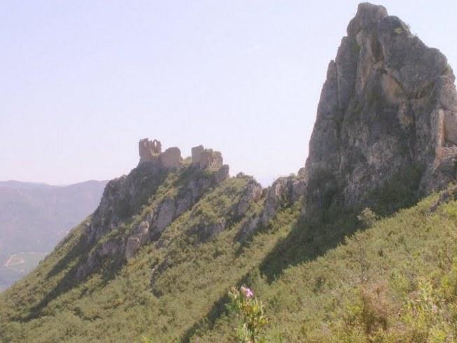 Fotos de la marcha desde Espadilla a peña Saganta y al castillo