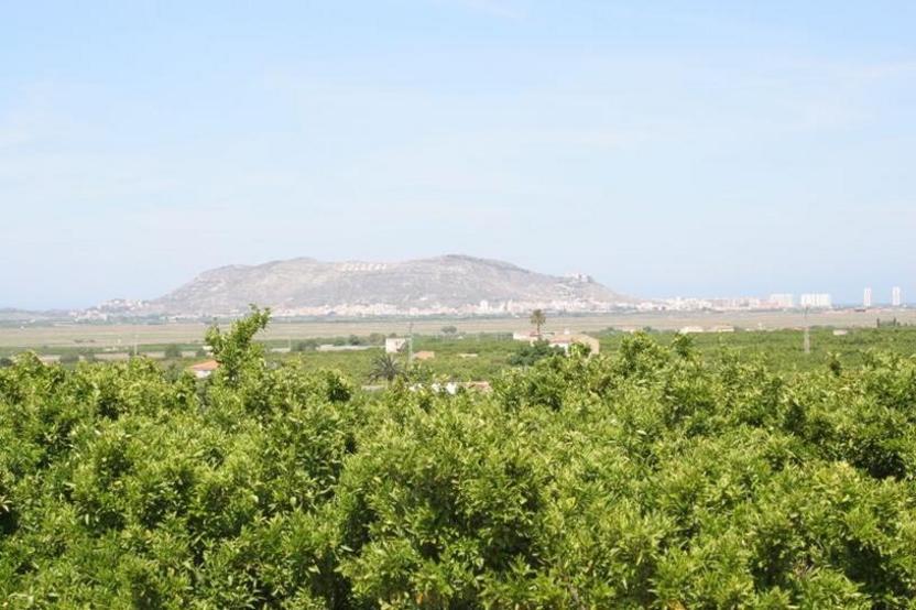 Montaña de Cullera vista desde Corbera.