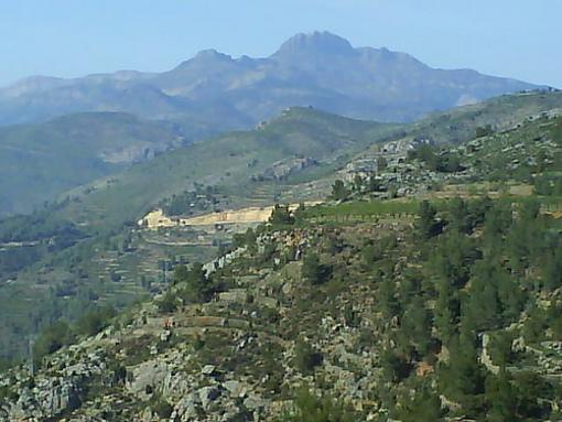 Vista del Pic de Peñagolosa
