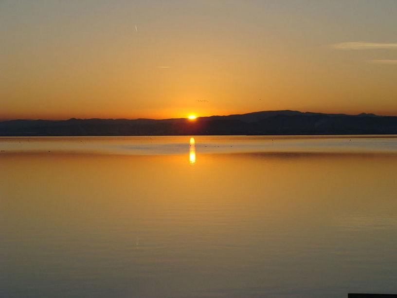 Lago de el Parque Natural de la Albúfera