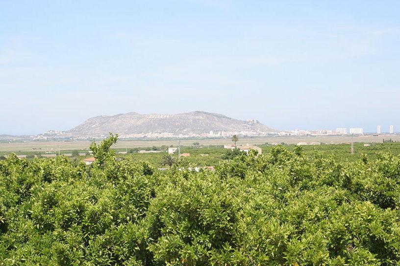 La sierra de los Zorros (Serra de les Rabosses) de Cullera.