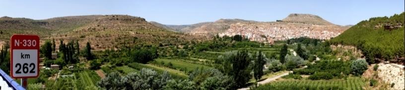 Vista de el Rincón de Ademuz