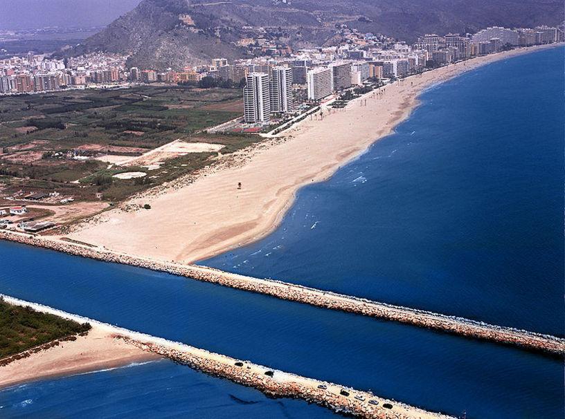 Vista panorámica  de la Playa Escollera