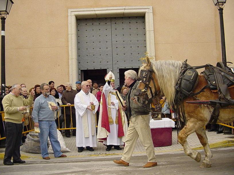 Festa de Sant Antoni a Beniopa