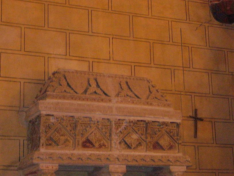 Sarcófago hijos de Alfonso el Viejo, Monasterio de San Jerónimo de Cotalba