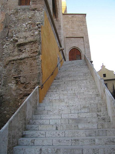 Escalinates de les Torres Quart