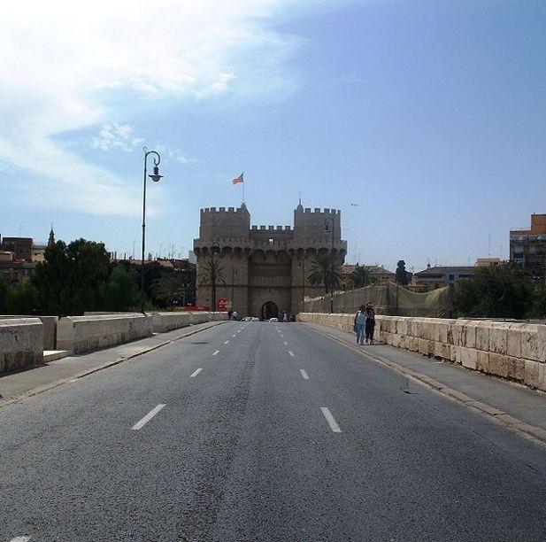 Vista de el Puente de las Torres Serrans
