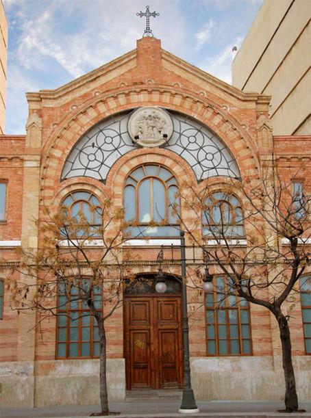 Vista de el Salón de Racionistas, Valencia