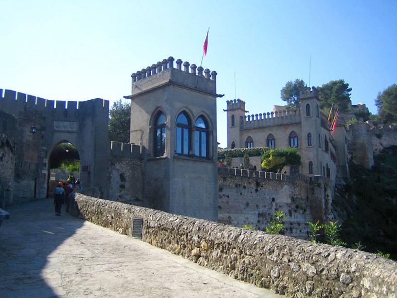 Vista de el Castillo de Játiva