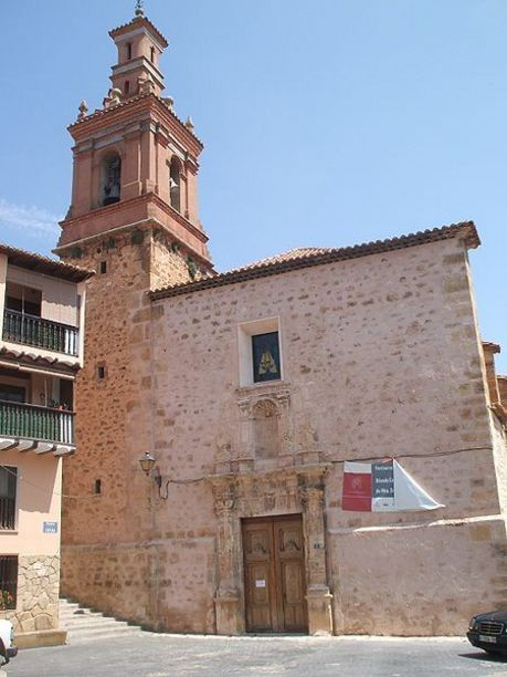 Fatxada d'Església de la Mare de Déu dels Ángeles