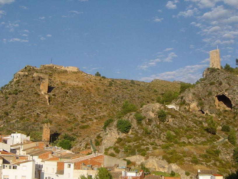 Vista del Castillo de Mogente