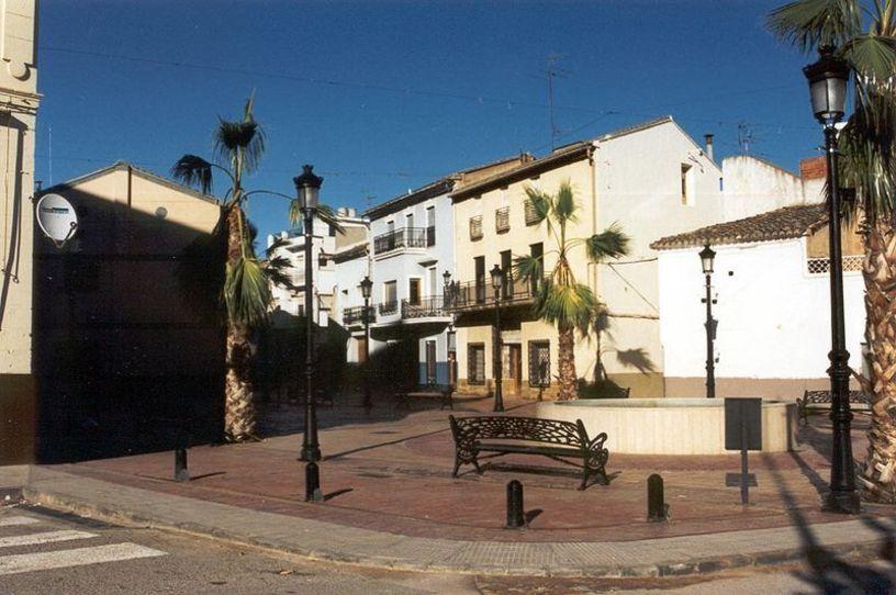 Plaza de la localidad de Catadau