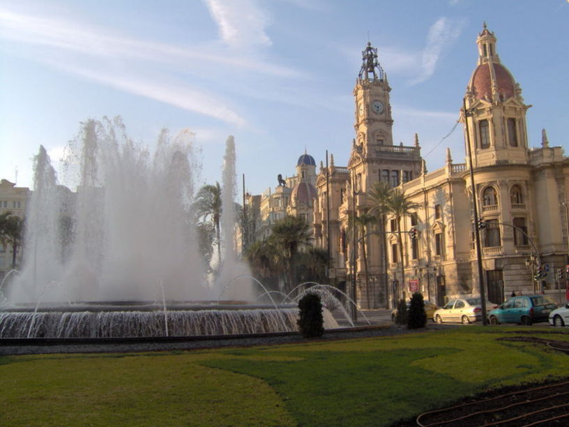 Fachada de el Museo Histórico Municipal de Valencia
