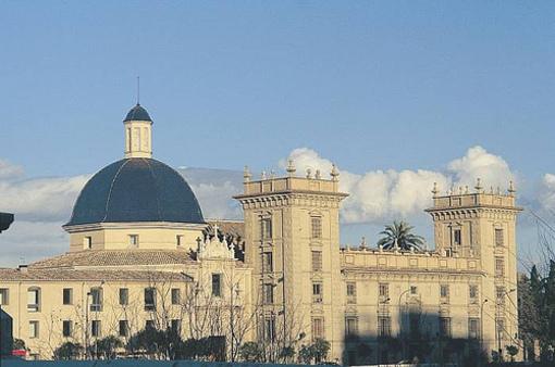 Edificio de el Museo de Bellas Artes de Valencia
