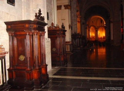 Nave del evangelio de la Catedral de Valencia