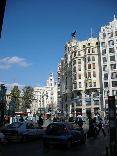 Recorridos por la ciudad de Valencia