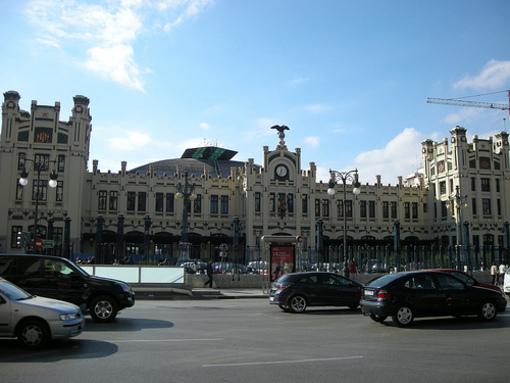 Edificio de la Estacion Norte de Valencia