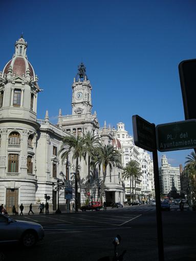 Actual casa de l'Ajuntament de València