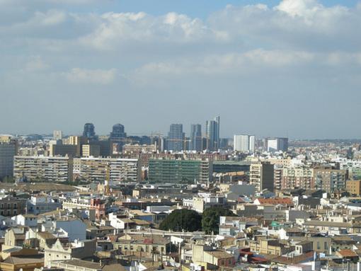 Vistas de Valencia desde la Torre de el Miguelete