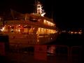 Yate copa america en el puerto de Valencia