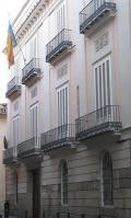 Fatxada del Palau dels barons d'Alaquàs