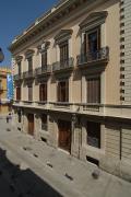 Fachada principal del Museo recayente a la calle Caballeros.