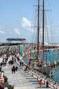 Port de València durant la Copa Amèrica