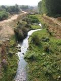 Vista de el Rio Magro en Valencia