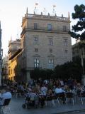 Vista del Palau de la Generalitat en la la Ciutat de València