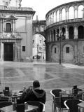 Plaza en el barrio del Carmen en Valencia