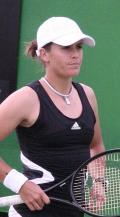 Anable Medina Garrigues, tenista nacida en Torrente